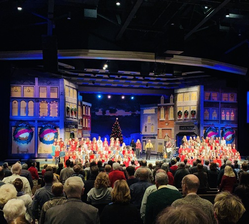 Calvary Church kid's choir 12/8/19