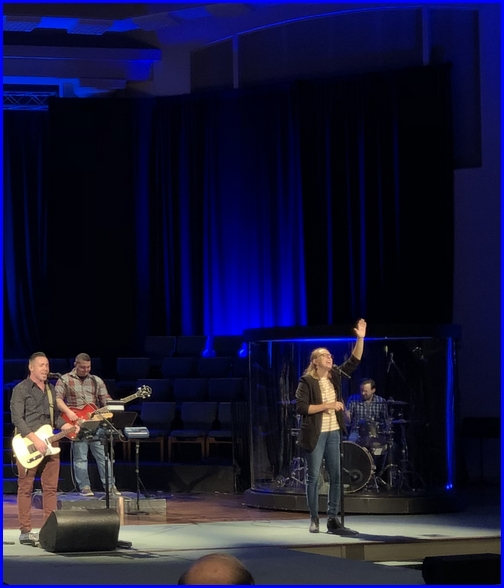 Calvary Church worship team 12/2/18