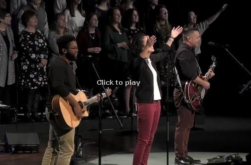 Calvary Church worship team