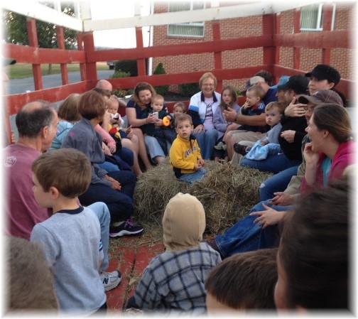 Church hay ride 09-28-14
