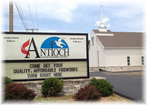 Church sign 6/25/14