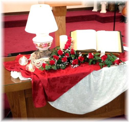 Church Communion Table 2/16/14