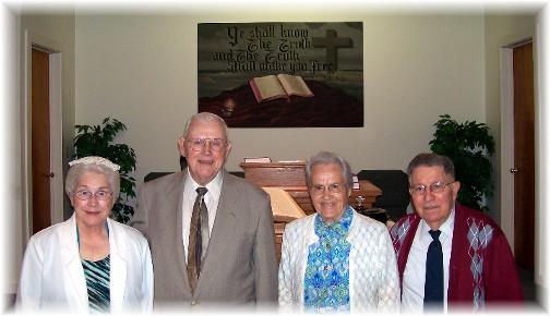 Former pastors at Mastersonville