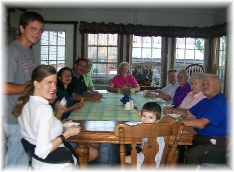 Ice cream & fellowship 7/25/10