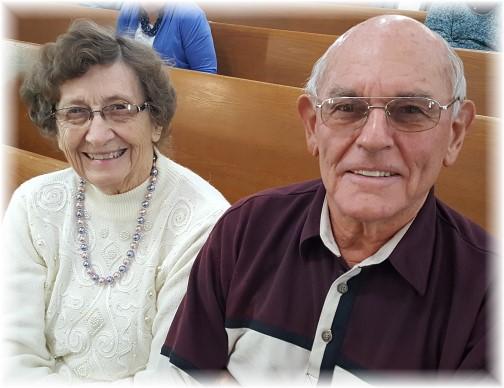 Jake and Nancy Shenk 1/8/17