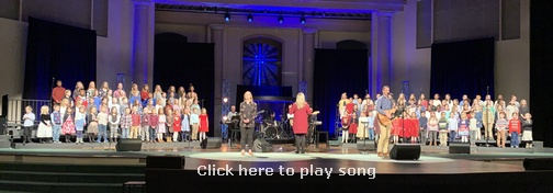 "Calvary Church ""King's Kids"" children's choir"