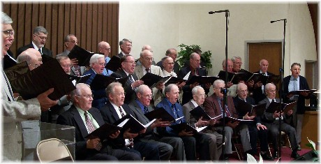 Singing Men of Messiah Village 4/18/10