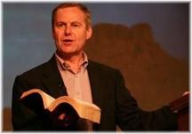 Preacher preaching