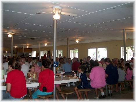Roxbury Camp dining hall