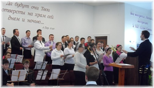 Russian church adult choir 3/31/13