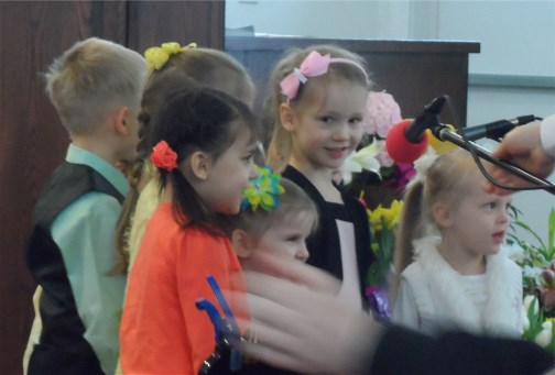 Russian church children singing 3/31/13