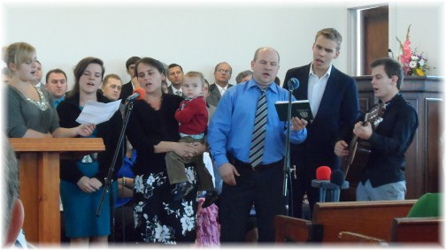 Russian church service