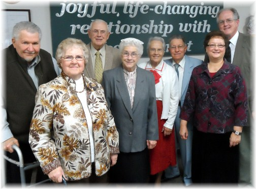 Senior ministry couples at Mount Pleasant