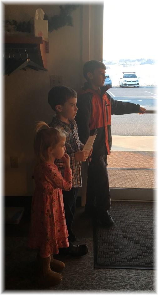 Church greeters 1/8/17