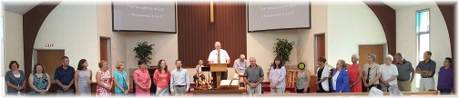 Mount Pleasant teacher commissioning 9/4/16 (Click to enlarge)