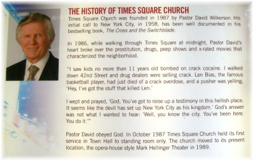 Times Square Church history