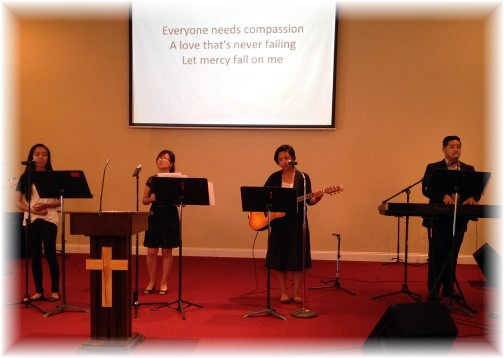Vietnamese church English service 6/29/14