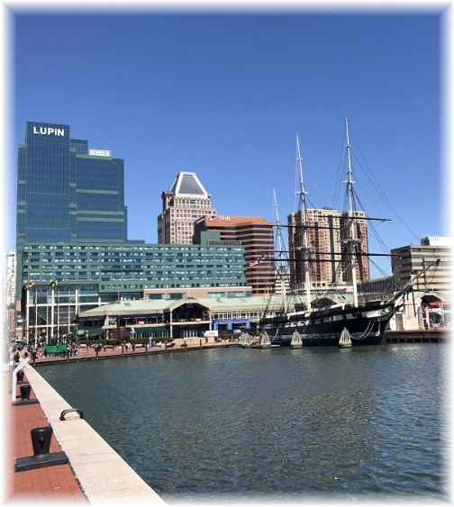 Baltimore inner harbor 3/31/18