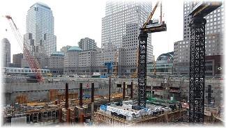 Foundation construction World Trade Center