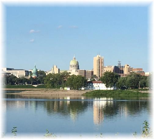 Pennsylvania capitol in Harrisburg 8/7/16