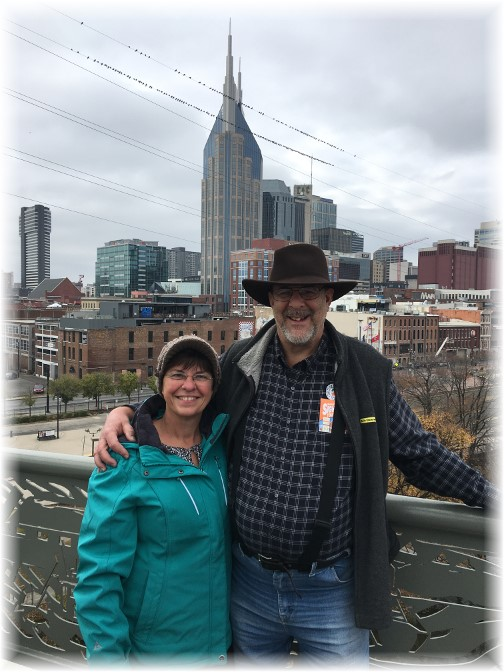 Nashville skyline 11/24/16