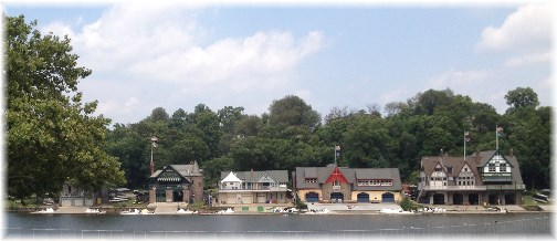 Philadelphia's boathouse row 7/13/14