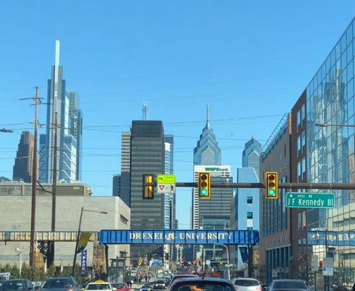 Philadelphia skyline (Ester)