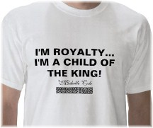 I'm a child of the King t-shirt