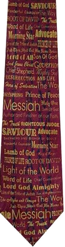 Names of God tie