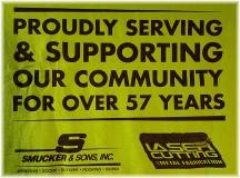 Smucker community day t-shirt
