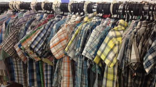 Boys shirts at Weaver's Store