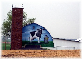 Dairy barn art