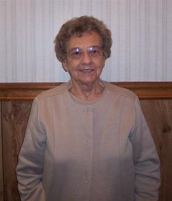Edna, Sunday school teacher for over 50 years!