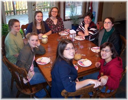 Ester's 19th birthday gathering