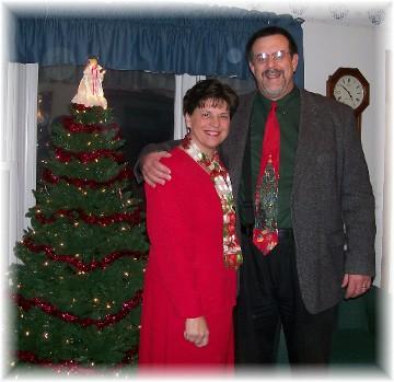 Stephen & Brooksyne Weber 2010 Christmas photo
