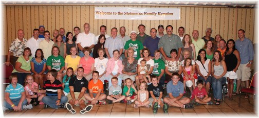 Steincross family photo, 2011 reunion in Gatlinburg, TN