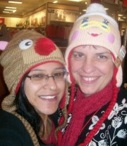 Mother/daughter Christmas shopping 2011