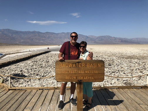 Badwater basin, Death Valley 9/23/19