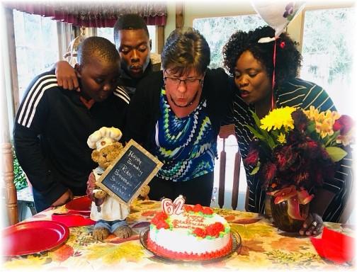 Brooksyne and Zimbabwean friends 10/22/17