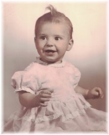 Brooksyne's baby picture 1956