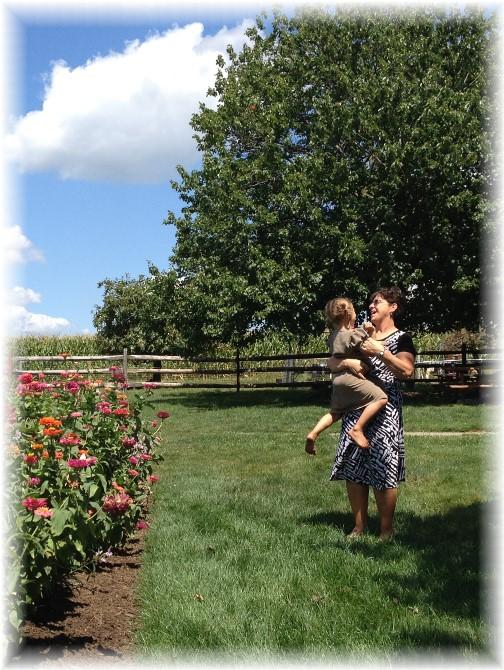 Brooksyne with Lizzie 8/13/15