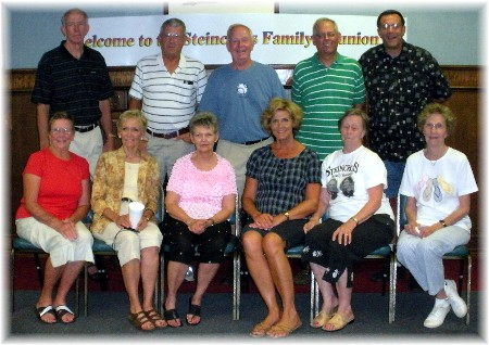 Steincross Cousins at 2009 reunion