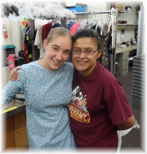 Ester & Deanna at Mount Joy Thrift Shop 7/2/13