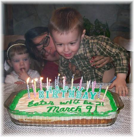 Ester's 21st birthday with David & Adoree