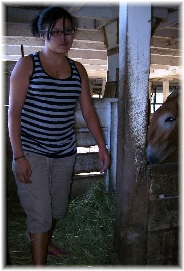Ester feeding mules