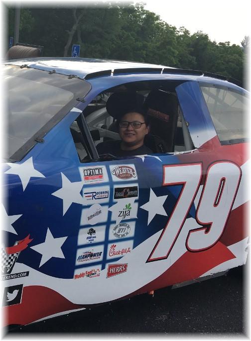 Ester in race car 6/4/17