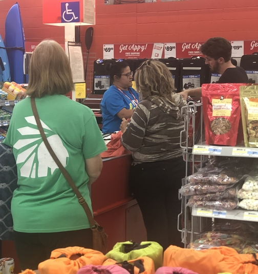 Ester at K-Mart 8/12/19