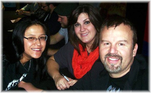 Ester with Casting Crowns singers