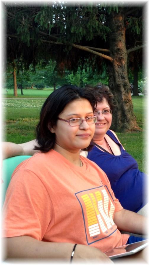 Ester with Elaine 6/17/14