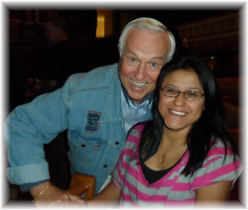 Josh McDowell with Ester 10/21/12